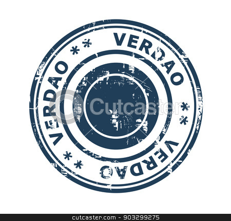 Verdao stadium stamp stock photo, Verdao stadium in Brazil grunge stamp isolated on a white background. by Martin Crowdy