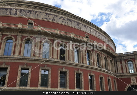 Royal Albert Hall in London stock photo, Royal Albert Hall in London, UK by Ritu Jethani