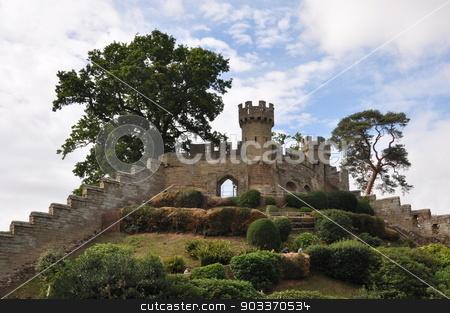 Warwick Castle in England stock photo, Warwick Castle in England, UK by Ritu Jethani