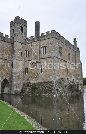 Leeds Castle in England stock photo, Leeds Castle in England, UK by Ritu Jethani