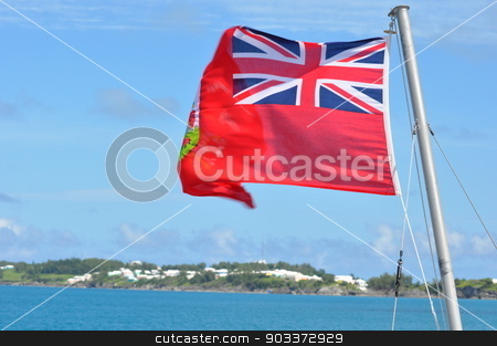 Bermuda Flag stock photo, Bermuda Flag by Ritu Jethani