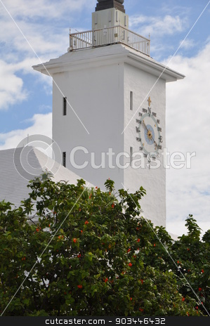 City Hall in Hamilton, Bermuda stock photo, City Hall in Hamilton, Bermuda by Ritu Jethani