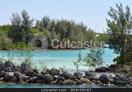 Waters of Bermuda stock photo, Waters of Bermuda by Ritu Jethani