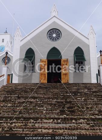 St. Peter's Church, in St. George's, Bermuda stock photo, St. Peter's Church, in St. George's, Bermuda by Ritu Jethani