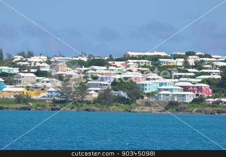 Colorful Houses in Bermuda stock photo, Colorful Houses in Bermuda by Ritu Jethani