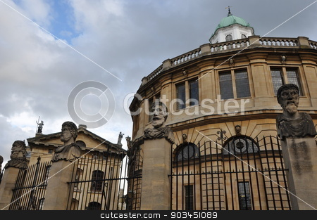 Oxford University in England stock photo, Oxford University in England by Ritu Jethani