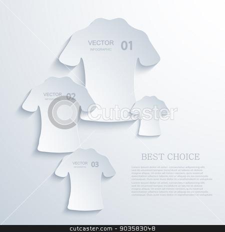 vector modern t-shirt  background.