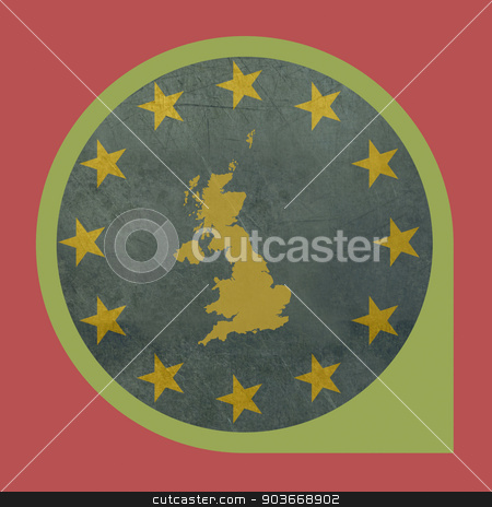 Grunge United Kingdom travel tag stock photo, United Kingdom travel tag isolated on white background with copy space. by Martin Crowdy