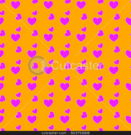 Valentines day.background with red hearts.Seamless pattern