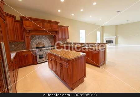 Kitchen stock photo, A Kitchen in a home in Florida by Lucy Clark