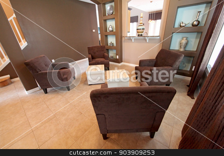 Living Area stock photo, A Formal Living Area in a Home by Lucy Clark
