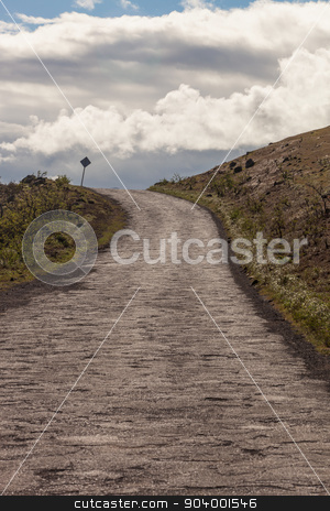 Piilani Highway Road Past Hana stock photo, Long rugged road past Hana on Maui by Scott Griessel