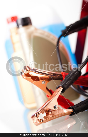 Parts Accessories on vivid moto concept stock photo, Parts Accessories on vivid moto concept by Sebastian Duda