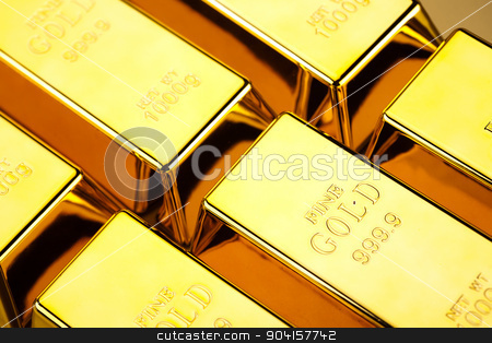 Diamond and gold, ambient financial concept stock photo, Diamond and gold, ambient financial concept by Sebastian Duda