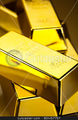 Finance Concept, coins and gold stock photo, Finance Concept, coins and gold by Sebastian Duda
