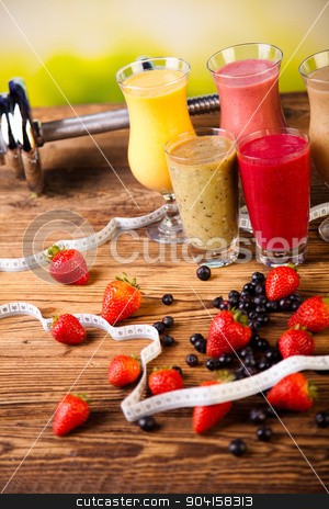 Cocktails with fresh fruits, Vitamin and Fitness stock photo, Cocktails with fresh fruits, Vitamin and Fitness by Sebastian Duda