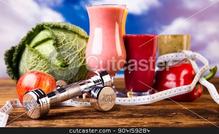 Sport diet, healthy and fresh stock photo, Sport diet, healthy and fresh by Sebastian Duda