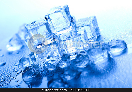 Cubes of ice, cold and fresh concept stock photo, Cubes of ice, cold and fresh concept by Sebastian Duda