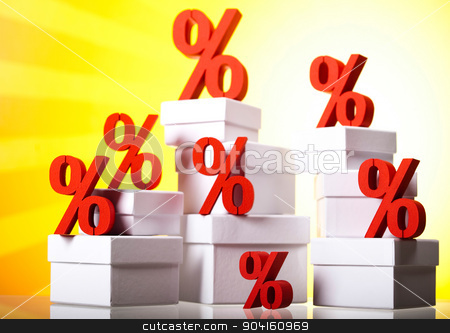 Concept of discount, financial concept stock photo, Concept of discount, financial concept by Sebastian Duda