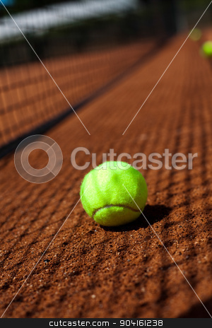 Racket, summertime saturated theme stock photo, Racket, summertime saturated theme by Sebastian Duda