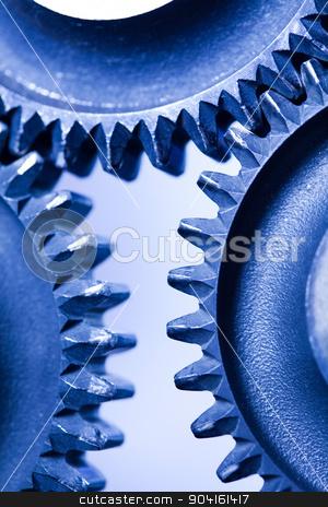 Metal Gears Background, technic concept stock photo, Metal Gears Background, technic concept by Sebastian Duda