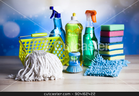 Cleaning, home work colorful theme stock photo, Cleaning, home work colorful theme by Sebastian Duda