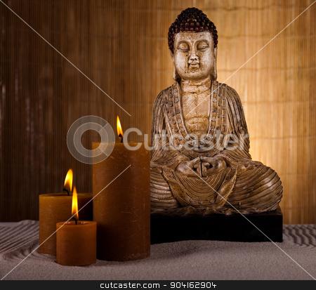 Buddha statue, vivid colors, natural tone  stock photo, Buddha statue, vivid colors, natural tone by Sebastian Duda