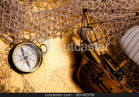Traveling, colorful bright journey theme stock photo, Traveling, colorful bright journey theme by Sebastian Duda