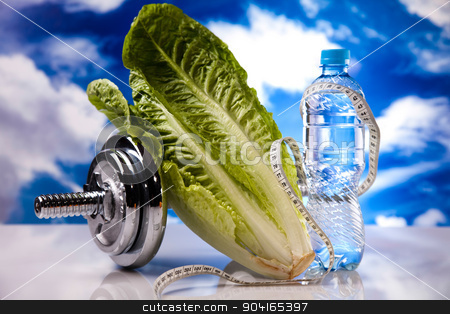 Healthy lifestyle concept, Diet and fitness stock photo, Healthy lifestyle concept, Diet and fitness by Sebastian Duda