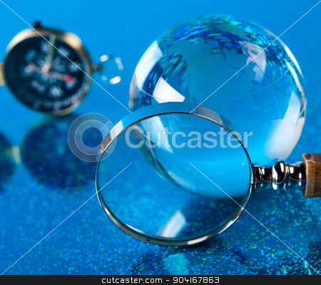 Theme of modern worldwide, glass globe stock photo, Theme of modern worldwide, glass globe by Sebastian Duda