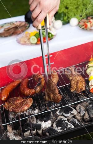 Barbecue, bright colorful vivid theme stock photo, Barbecue, bright colorful vivid theme by Sebastian Duda