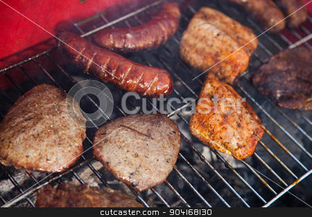 Grilling time, Grill, bright colorful vivid theme stock photo, Grilling time, Grill, bright colorful vivid theme by Sebastian Duda