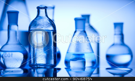 Chemistry, bright modern chemical concept stock photo, Chemistry, bright modern chemical concept by Sebastian Duda