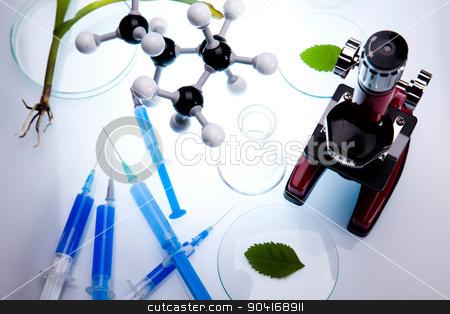 Laboratory glassware equipment, Experimental plant stock photo, Laboratory glassware equipment, Experimental plant by Sebastian Duda