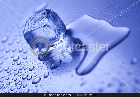 Ice background, cold and fresh concept stock photo, Ice background, cold and fresh concept by Sebastian Duda