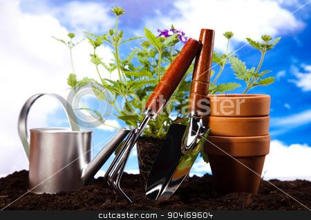 Gardening time, garden, vivid bright springtime concept stock photo, Gardening time, garden, vivid bright springtime concept by Sebastian Duda