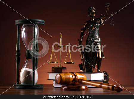 Justice statue, Law, ambient light vivid theme stock photo, Justice statue, Law, ambient light vivid theme by Sebastian Duda
