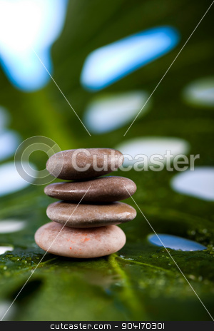 Zen stones, magical ambient atmosphere theme stock photo, Zen stones, magical ambient atmosphere theme by Sebastian Duda