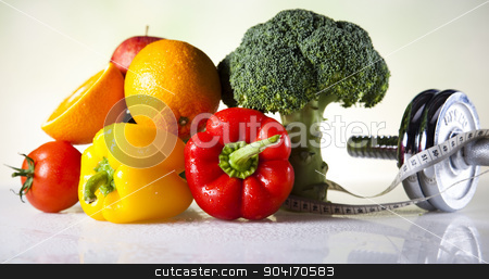 Healthy lifestyle concept stock photo, Healthy lifestyle concept, Diet and fitness by Sebastian Duda