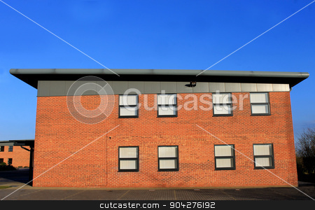 Modern office building stock photo, Exterior of a modern office building by Martin Crowdy