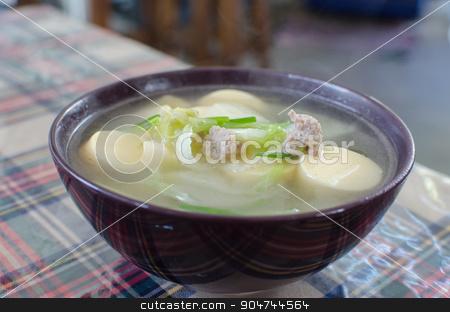 tofu Clear Soup
