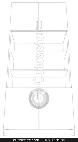 Illustration of cabinet