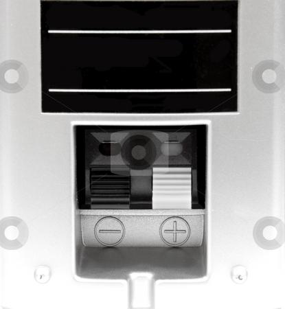 Back of speaker stock photo, Close up of back of speaker by John Teeter
