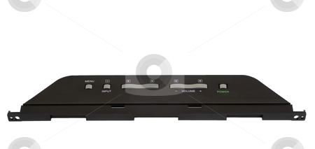 Isolated tv power board stock photo, Isolated television power board by John Teeter