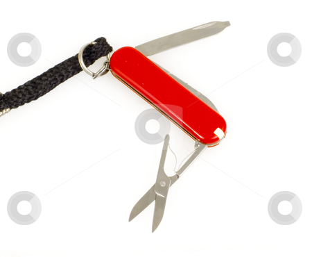 Key Chain Tool stock photo, Close up of key chain tool by John Teeter