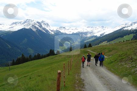 Hiking in Hinterglemm, Austria stock photo, Urlaub Pfingsten 2006 Hinterglemm ???sterreich by Wolfgang Heidasch