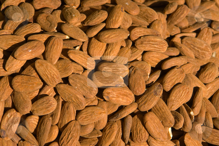Almonds stock photo,  by Wolfgang Heidasch