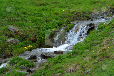 Mountain river stock photo, Urlaub Pfingsten 2006 Hinterglemm ???sterreich by Wolfgang Heidasch