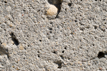 Cement Background stock photo, A background of cement, concrete and rocks by Richard Nelson