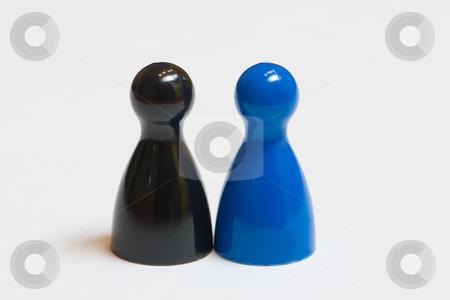 Ungleiches Paar stock photo, Ungleiches Paar by Wolfgang Heidasch